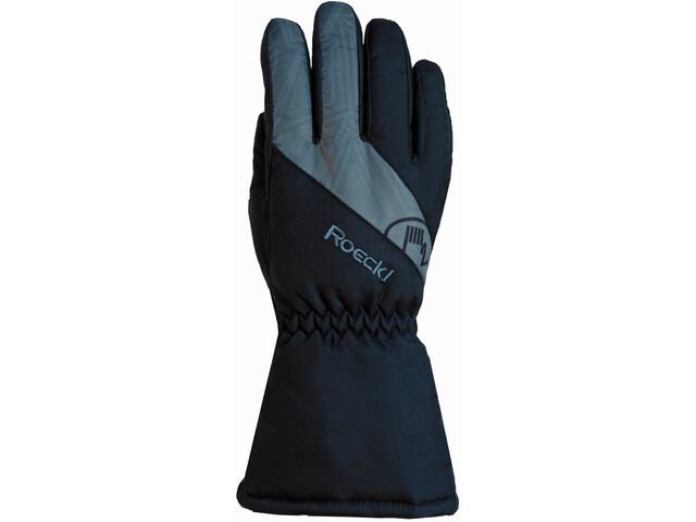Roeckl Auron Handschuhe Kinder black/grey